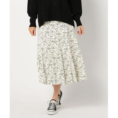 FREDY&GLOSTER / フラワープリントスカート WOMEN スカート > スカート