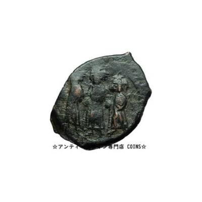 金貨 銀貨 硬貨 シルバー ゴールド アンティークコイン CONSTANS II & SONS 641AD Constantinople Follis