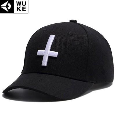 キャップ メンズ レディース ブラック 帽子 ベースボールキャップ 野球帽子 コットンキャップ シンプル 十字 クロス b系 ペイズリー柄 バンダナ柄