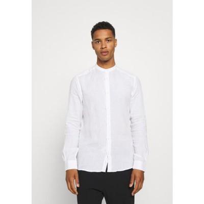 メンズ ファッション ONSKARLO MAO SHIRT - Shirt - white