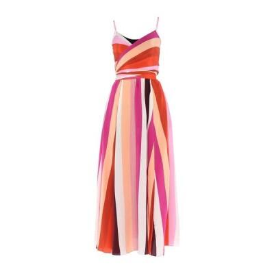 DIANE VON FURSTENBERG シルクドレス ファッション  レディースファッション  ドレス、ブライダル  パーティドレス フューシャ