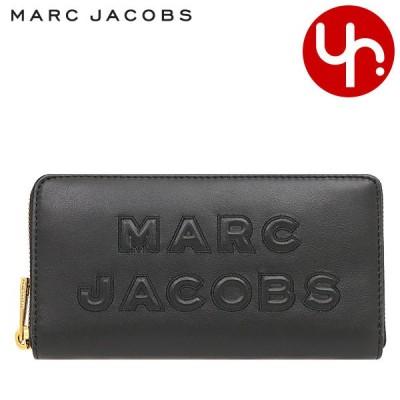【週末限定ポイント2%】マークジェイコブス Marc Jacobs 財布 長財布 M0015683 ブラック フラッシュ レザー ロゴ コンチネンタル ウォ アウトレット レディース