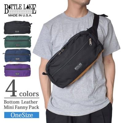 BATTLE LAKE バトル レイク レザー ボトム ファニー パック ミニ  メンズ レディース ショルダーバッグ ヒップバッグ ウエストバッグ ボディバッグ バッグ Bag