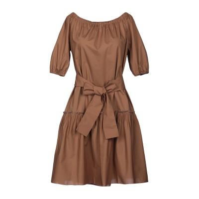 ロベルト コリーナ ROBERTO COLLINA ミニワンピース&ドレス カーキ S コットン 100% ミニワンピース&ドレス