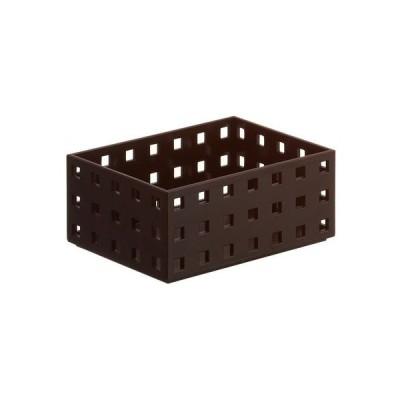 吉川国工業所 小物入れ 収納ケース ブリックス ブラウン 9001