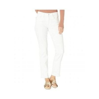 Joe's Jeans ジョーズジーンズ レディース 女性用 ファッション ジーンズ デニム Lara Cigarette Ankle Cut Hem Jeans in White - White
