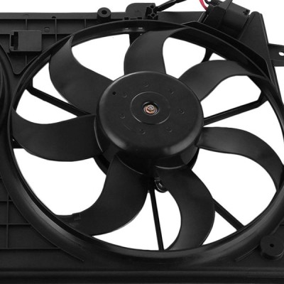 SucceBuy Cooling Fan Fit For VW Beetle Golf Jetta Condenser Cooling Fa