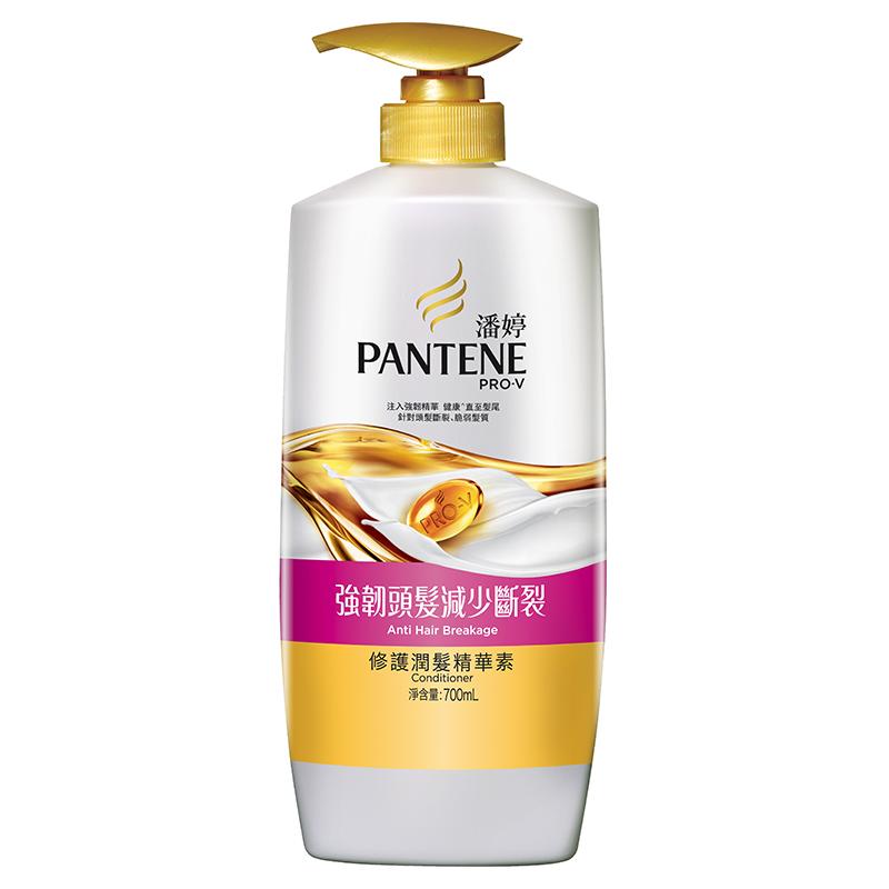 潘婷強韌減少斷裂潤髮精華素