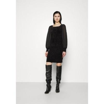 ヤス ワンピース レディース トップス YASSMOKA DRESS - Day dress - black