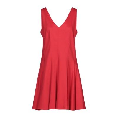 パロッシュ P.A.R.O.S.H. ミニワンピース&ドレス レッド XL コットン 95% / ポリウレタン 5% ミニワンピース&ドレス