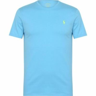 ラルフ ローレン Polo Ralph Lauren メンズ Tシャツ トップス Tee FrenchTurquoise