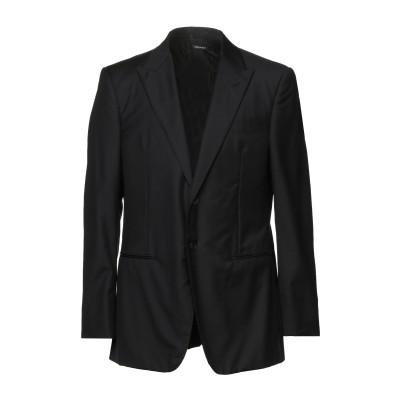 ジョルジオ アルマーニ GIORGIO ARMANI テーラードジャケット ブラック 56 バージンウール 90% / カシミヤ 10% テーラード