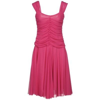 AGUA ミニワンピース&ドレス フューシャ 36 ナイロン 100% ミニワンピース&ドレス