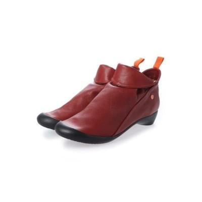 ヨーロッパコンフォートシューズ EU Comfort Shoes Softinos ショートブーツ(900.085) (レッド)