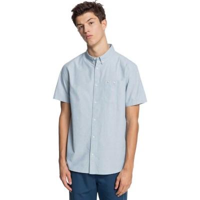 クイックシルバー Quiksilver メンズ シャツ トップス winfall shirt Captains Blue