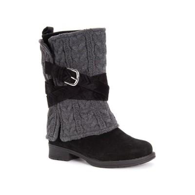 ムクルクス ブーツ&レインブーツ シューズ レディース Women's Nikita Boots Black/grey