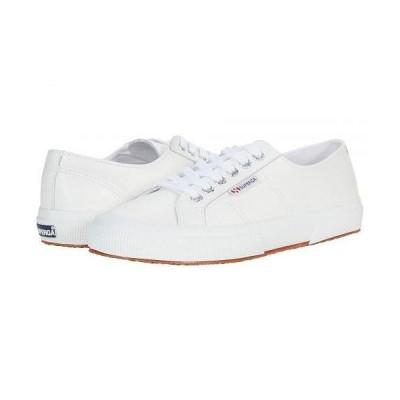 Superga スペルガ レディース 女性用 シューズ 靴 スニーカー 運動靴 2750 Nappaleau Sneaker - White Leather