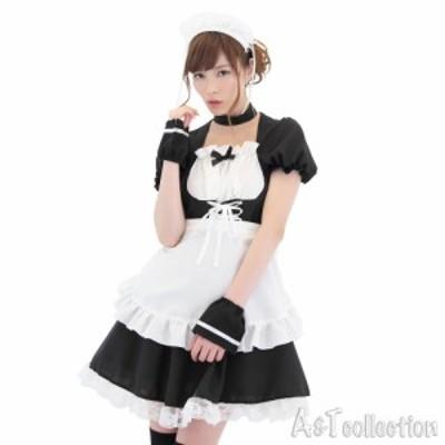 『コルセットメイド』 コスプレ衣装 エプロン パーティー・ハロウィンに! KH0023BK