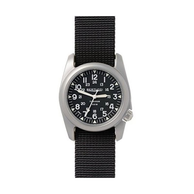 BERTUCCI A-2T Vintage Watch Balck/Ti-Black Band 12074 並行輸入品