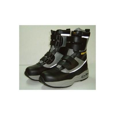 【代引不可】 ミドリ安全 鋼製先芯入スニーカー ブーツタイプ 24.0cm 【MPA34524.0】