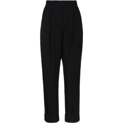OTTOD'AME パンツ ブラック 42 ポリエステル 100% パンツ