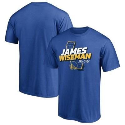James Wiseman ゴールデンステート・ウォリアーズ Fanatics Branded 2020 NBA Draft Hometown T-シャツ - Royal