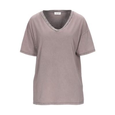 アメリカン ヴィンテージ AMERICAN VINTAGE T シャツ ドーブグレー XS/S コットン 100% T シャツ