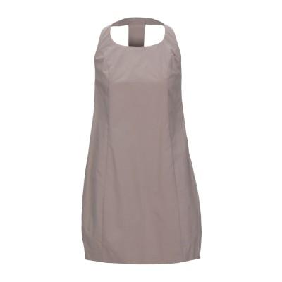 ドンダップ DONDUP ミニワンピース&ドレス ドーブグレー 40 コットン 98% / ポリウレタン 2% ミニワンピース&ドレス