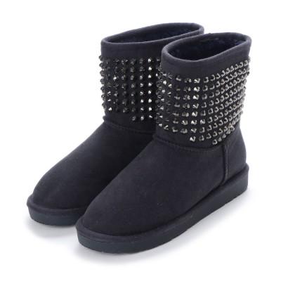 シューズラウンジ shoes lounge ロングブーツ 3577704NVS (ネイビー)