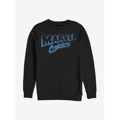 ノーブランド no brand メンズ スウェット・トレーナー トップス Retro Comics Logo Sweatshirt