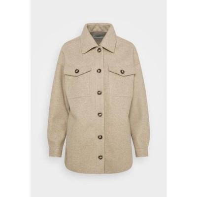 レディース ファッション SAVISA - Button-down blouse - tan