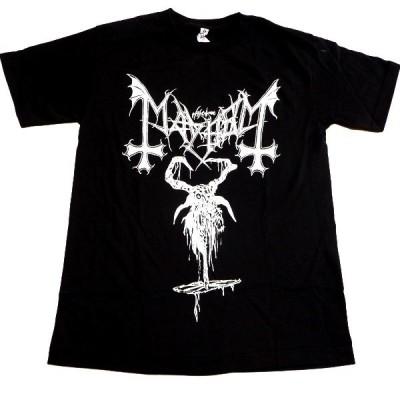 MAYHEM メイヘム GOAT オフィシャル バンドTシャツ【2枚までメール便対応可】