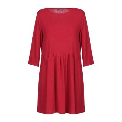 GABARDINE ミニワンピース&ドレス レッド 44 ポリエステル 80% / レーヨン 15% / ポリウレタン 5% ミニワンピース&ドレス