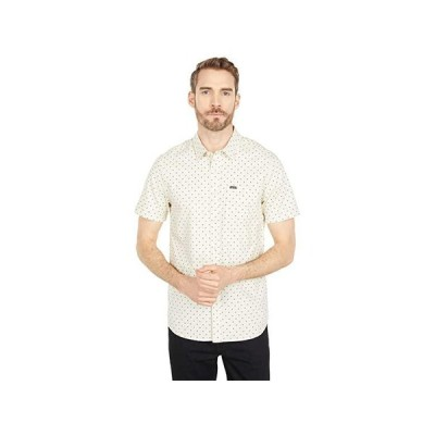 ボルコム Hallock Short Sleeve Shirt メンズ シャツ トップス White Flash