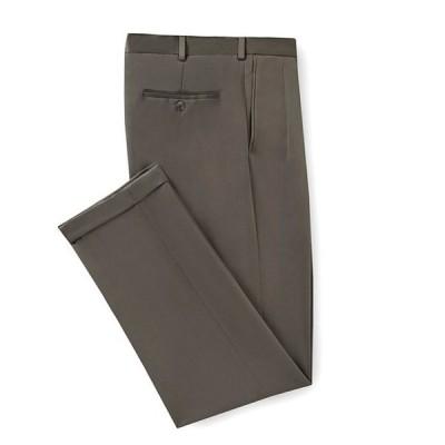 ラウンドトゥリーアンドヨーク メンズ カジュアルパンツ ボトムス Travel Smart Non-Iron Pleated Ultimate Comfort Microfiber Stretch Dress Pants