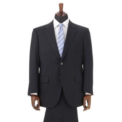 スタイリッシュスーツ【キング&トール】【就活】【紺無地】【ツーパンツ】