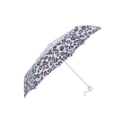 【残り1点!】【サイズ:OneSize】フルトン Fulton レディース 傘 Acid Leopard Print Minilite Umbrella