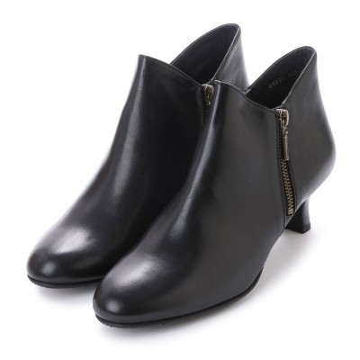 ビューフォートエレガンス BeauFort elegance 5センチヒール2E撥水ブーツ (ブラック)