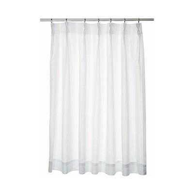 ユニベール ミラーレースカーテン ホワイト 幅100×丈133cm 2枚組 HAZ-L0005