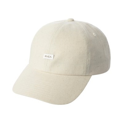 RVCA メンズ 【NEUTRAL COLLECTION】 NEUTRAL キャップ【2021年春夏モデル】