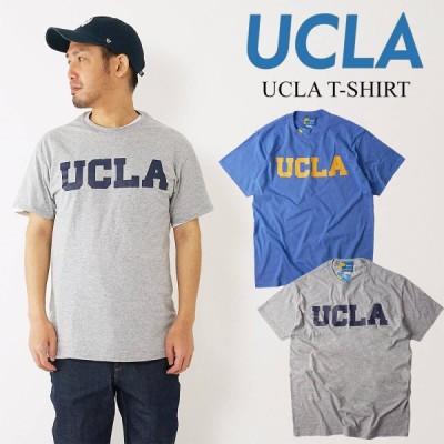 【倍!倍!ストア参加中!】UCLA ロゴTシャツ メンズ S-XXL カレッジTシャツ 海外買い付け≪ネコポス(メール便185円)対応商品≫