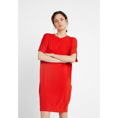 キオミ ワンピース レディース トップス Jersey dress - red
