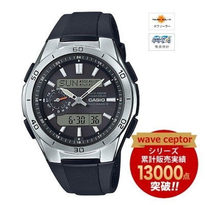 wave ceptor MULTIBAND6 ソーラー電波時計 WVA-M650-1AJF CASIO (カシオ)