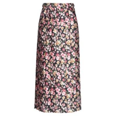 PINK MEMORIES ロングスカート ファッション  レディースファッション  ボトムス  スカート  ロング、マキシ丈スカート ブラック