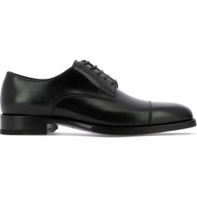 トム フォード Tom Ford メンズ 革靴・ビジネスシューズ レースアップ シューズ・靴 Leather Lace-Up Shoes Black