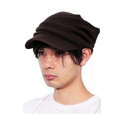 (エイト) 8(eight)11color ツバ付きニットキャップ 帽子 コットン ブラウン