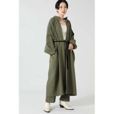 【ローズバッド】 ガウンコート レディース カーキ - ROSE BUD