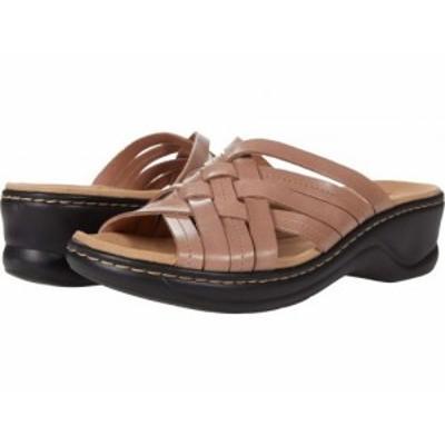 Clarks クラークス レディース 女性用 シューズ 靴 ヒール Lexi Selina Dusty Pink Leather【送料無料】