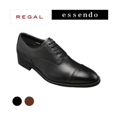 リーガル ストレートチップ ポインテッドトゥ GORE-TEX RE35HR ブラウン ブラック REGAL メンズ靴