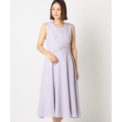 【ミューズ リファインド クローズ】 バックサテンドレス レディース ラベンダー M MEW'S REFINED CLOTHES